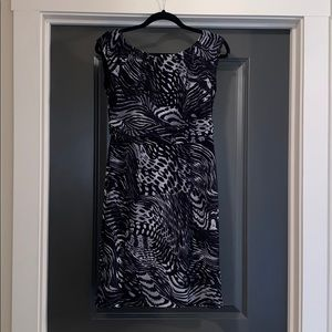 AB Studio | Mixed Print Dress